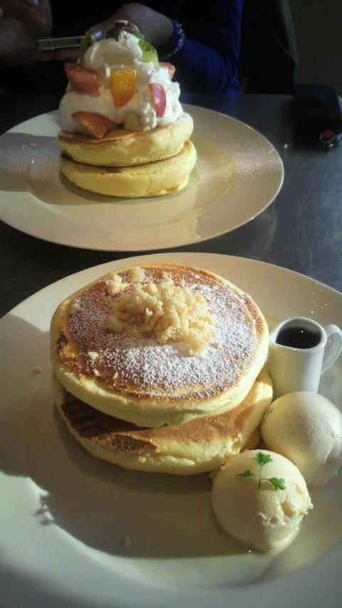 大好きパンケーキ@レインボーパンケーキ